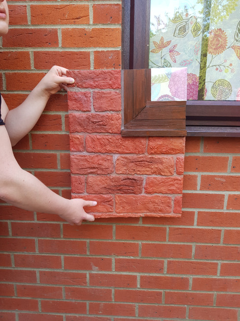 Brickwork and Blind Camouflage