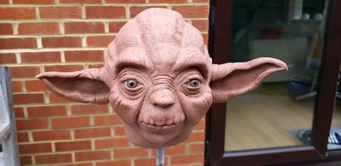 Finished Yoda Sculpt