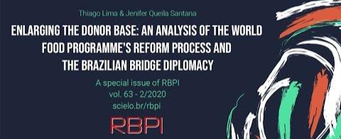 Autores apresentam artigo Analysis of the World Food Programme's and the Brazilian bridge diplomacy