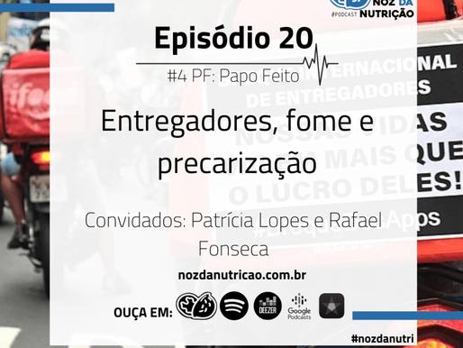 #Podcast Nóz da Nutrição com Rafael Fonseca, membro do FomeRI