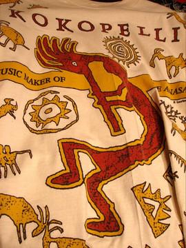 Kokopelli - T Shirt design