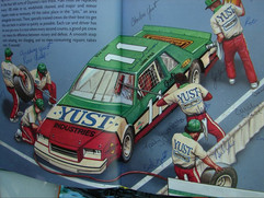 Interior Spread - The Big Book of Real Racecars