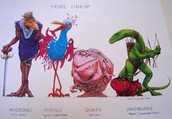 Tribe Lineup