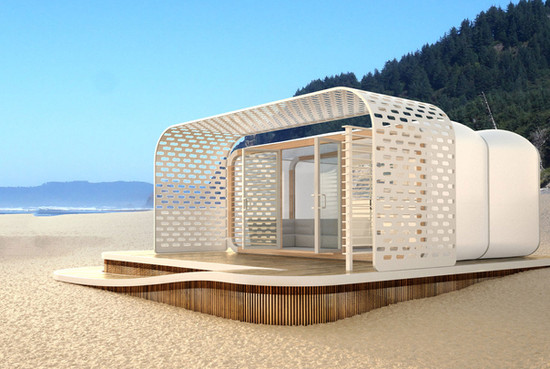 Snoozy | Beach Villa Concept