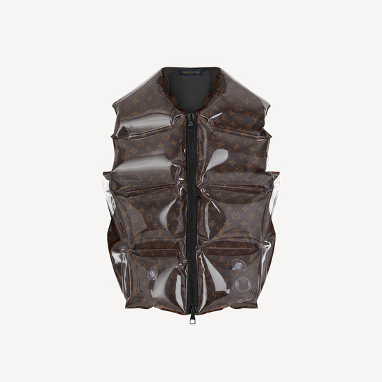 Louis Vuitton | Monogram Inflatable Gilet | Ready To Wear '21