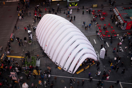 Inflate Design Pavillion Times Square