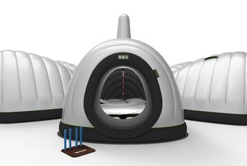 Escargoo Inflatable Pods