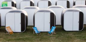 Snoozy Camping Glastonbury