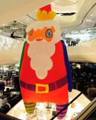 Inflatable Santa Selfridges