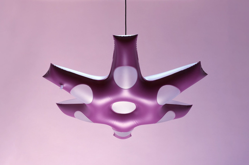 Inflate Starlight Pendant Light Purple