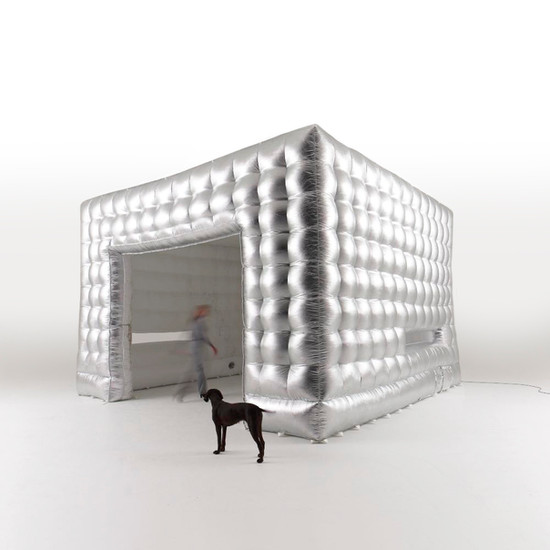 Silver Cube