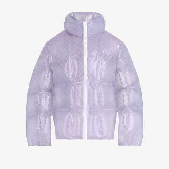 Louis Vuitton | Frosted Inflatable Puffa | Ready To Wear '21