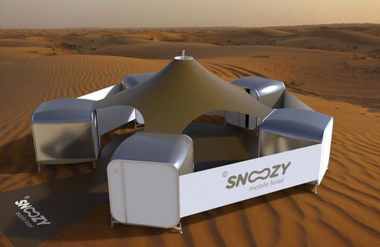 Snoozy | Desert Camping Concept