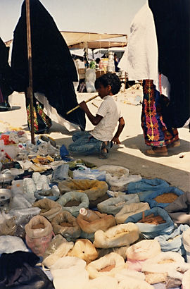 The Bedouin Market, Beer Sheba, 1990