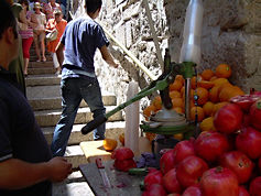 On the way to the Western Wall, Jerusalem, 2009