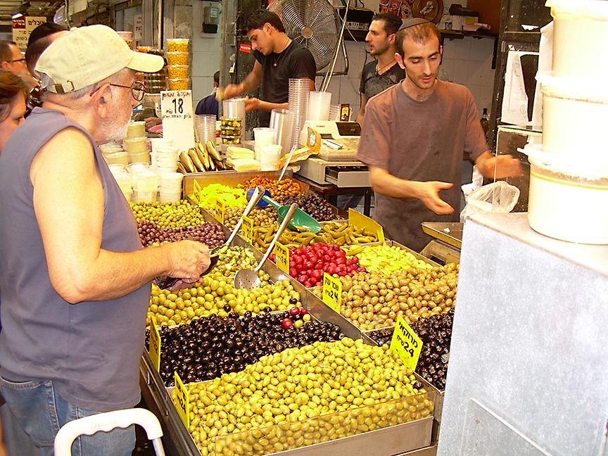 Olives in the Jewish Market, Jerusalem, 2009