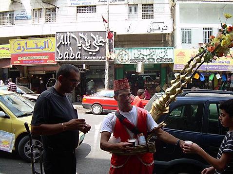 Traditional Carob drink in Ramallah, 2009