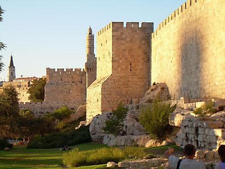 The ramparts walls in Jerusalem, 2009