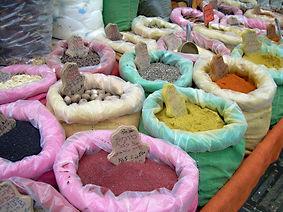 Spices in the Jewish Market, Jerusalem, 2009