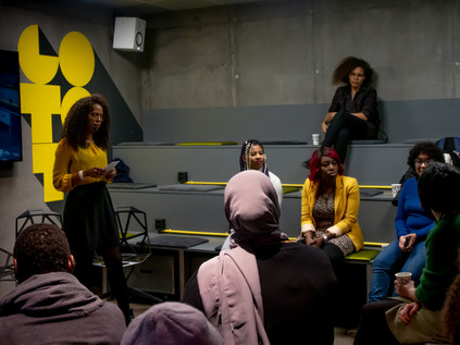 Most people were here to get to know more people, connect and network with other WOC