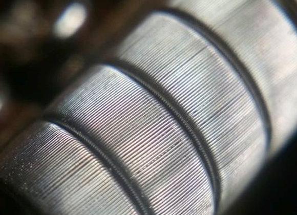 Framed Staple coils