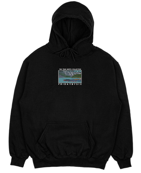 The Embroidered True North Midweight Hoodie