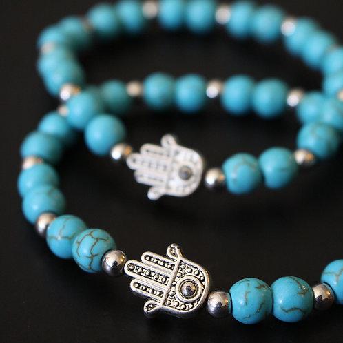 Hasma Turquoise Bracelet