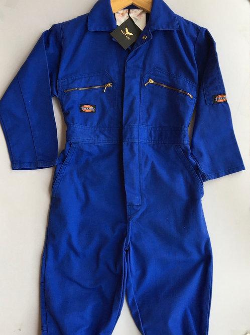 Vintage Original Dickies Boiler Suit Blue - Age 7-8