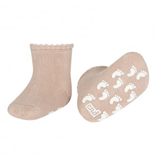 Condor Baby Non-Slip Socks Antique Rose pink baby