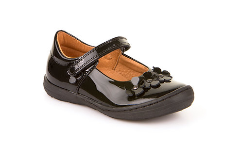Froddo Flower Patent Leather School Shoes