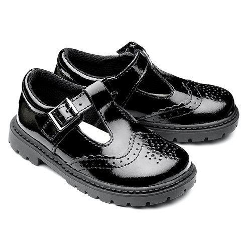 Chipmunks Ellie School Shoes black