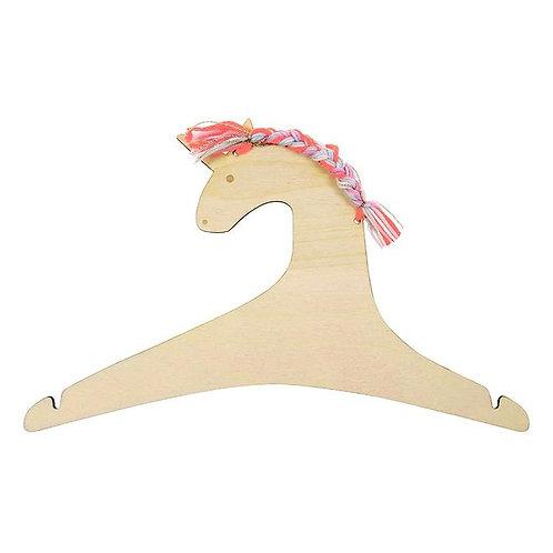 2 Pack Wooden Unicorn Hangers Meri Meri