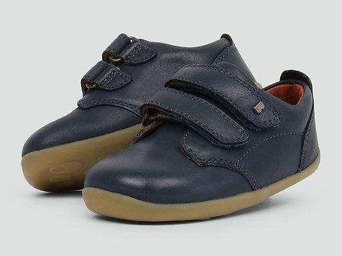 Bobux Step Up Port First Walker Shoes Navy