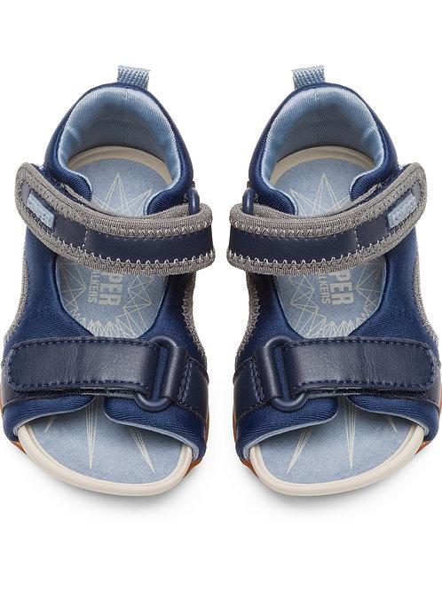 Camper First Walker Splash Sandals - Navy
