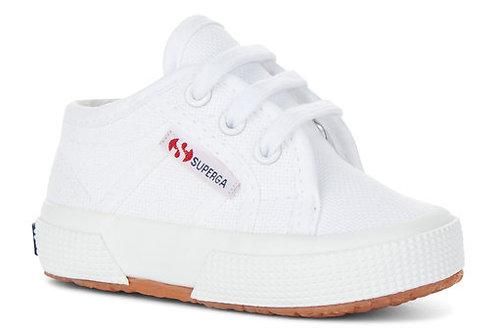 Superga Toddler 2750 Classic Lace Up - White