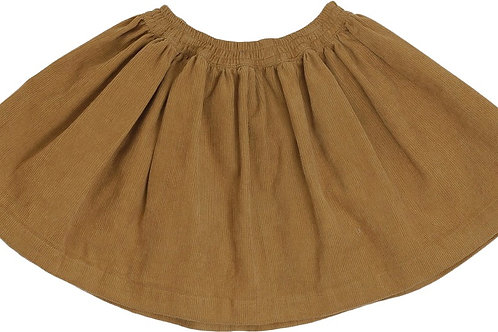 Konges Slojd Organic Cotton Siri Skirt - Toffee Cord