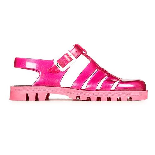 Juju Jelly Sandals - Clear Pink