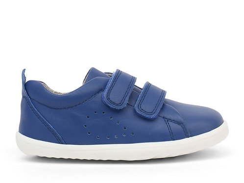 Bobux Grass Court Step Up Blueberry trainers shoes