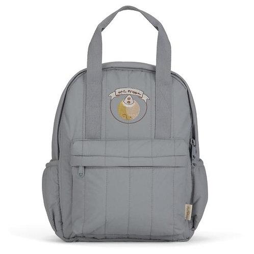 Konges Slojd Loma Kids Backpack Mini Mr Moon (Quarry Blue) bag