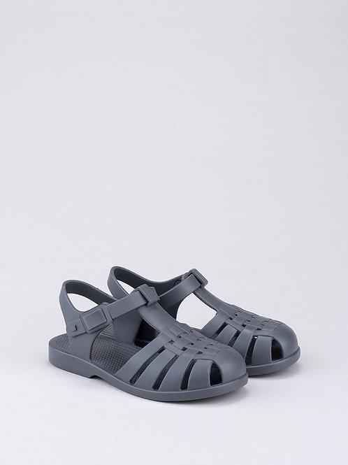 Igor Classica Snap Fastening Jelly Shoe - Grey