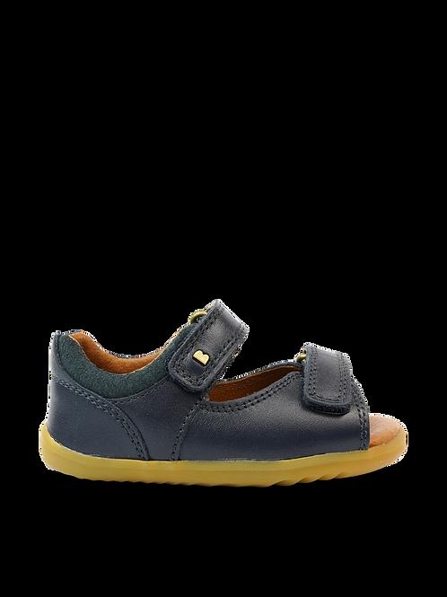 Bobux Step Up Driftwood Navy First Walker Sandals