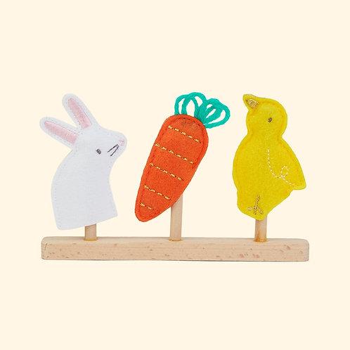 Meri Meri Bunny Finger Puppets