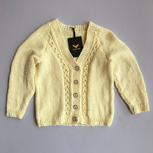 Vintage knitted cardigan - Age 2-3 years