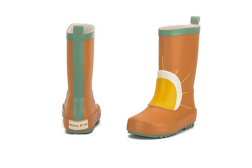 Grech & Co Natural Rubber Wellies Spice