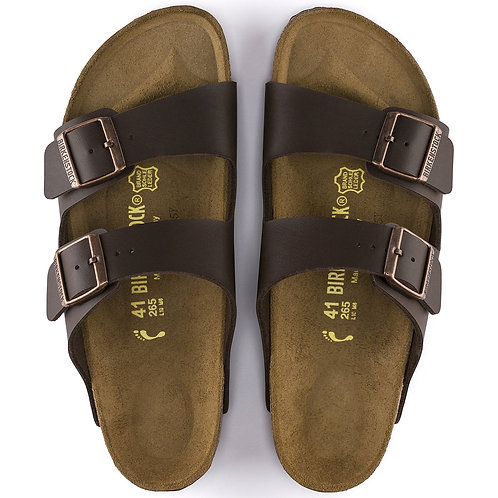 Birkenstock Women's Arizona Dark Brown sandals shoes