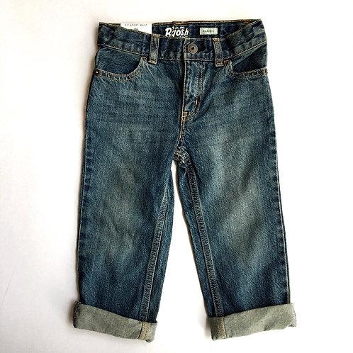 Sacred Hawk Vintage Original Osh Kosh Mid Wash Jeans Age 3 denim