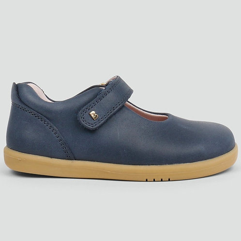 Bobux IWalk Delight Mary Jane Navy shoes