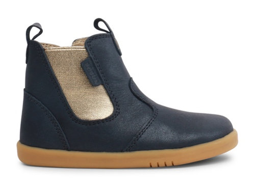 Bobux IWalk Jodphur Boot Navy Shimmer boots shoes