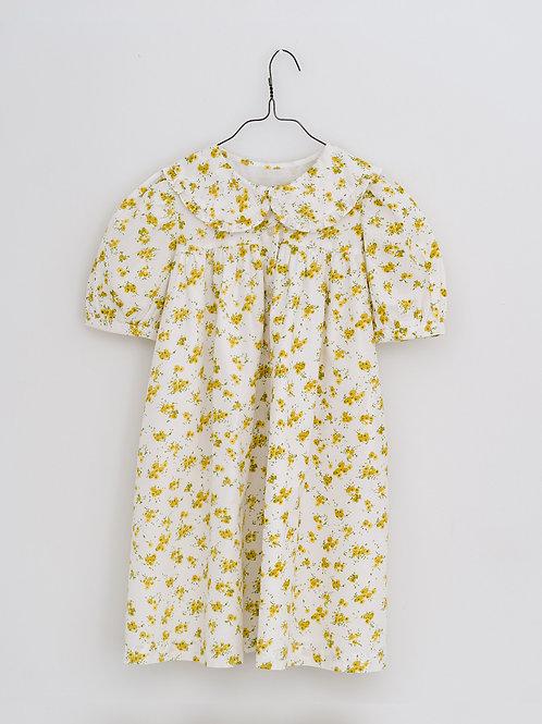 Althea Dress in Buttercup Floral - Little Cotton Clothes