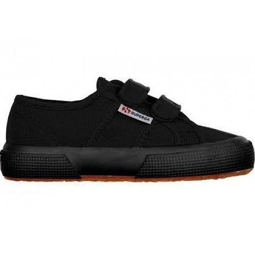 Superga Full Black Classic Velcro trainers